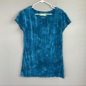 Earth Yoga Blue Tye Dye Shirt L